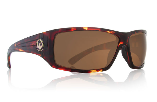 Dragon - Cinch Tortoise / Bronze Performance Polar Sunglasses