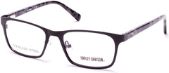 Harley-Davidson - HD0136T Matte Black Eyeglasses / Demo Lenses