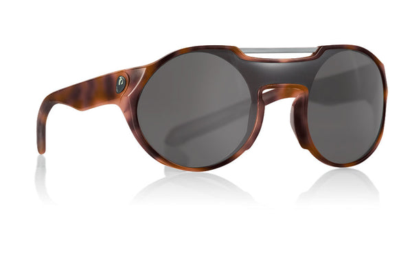 Dragon - Deadball Matte Tortoise Sunglasses / Smoke Lenses