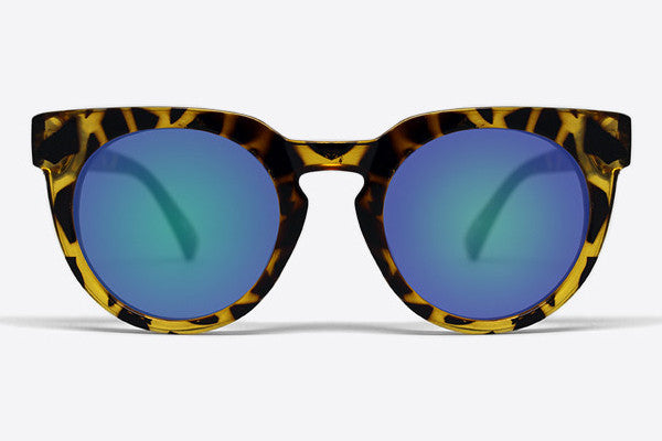 Quay Class Of 89 Tortoise / Green Mirror Sunglasses