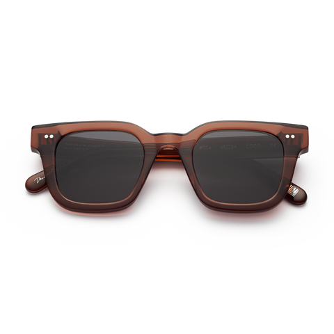 CHiMi - #004 46mm Coco Sunglasses / Black Lenses