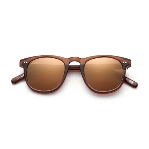 CHiMi - #001 47mm Coco Sunglasses / Brown Mirror Lenses