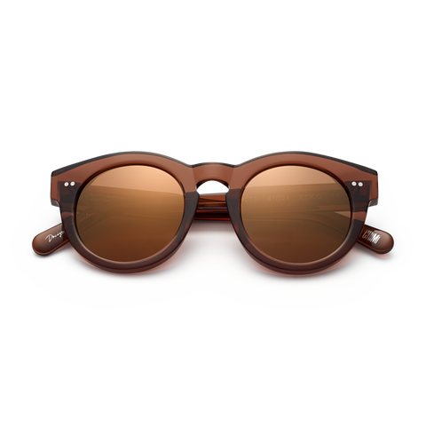 CHiMi - #003 47mm Coco Sunglasses / Mirror Lenses