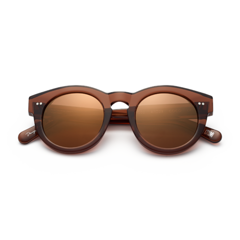 CHiMi - #003 47mm Coco Sunglasses / Brown Mirror Lenses