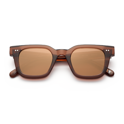 CHiMi - #004 46mm Coco Sunglasses / Brown Mirror Lenses
