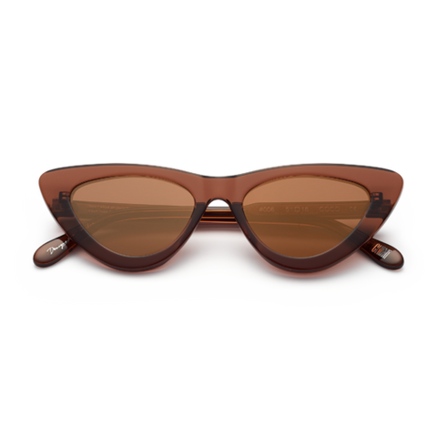 CHiMi - #006 51mm Coco Sunglasses / Brown Mirror Lenses