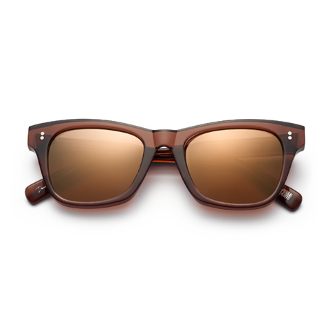CHiMi - #007 50mm Coco Sunglasses / Brown Mirror Lenses