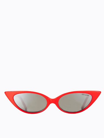 Poppy Lissiman - Coco Husk Ketchup Sunglasses / Yellow Revo Mirror Lenses