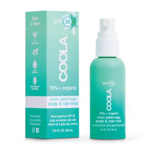 Coola - Scalp & Hair Mist SPF30 Organic 60ml Sunscreen Spray
