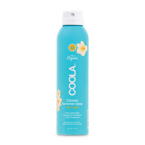 Coola - Classic Body SPF30 Organic Pina Colada 177ml Sunscreen Spray