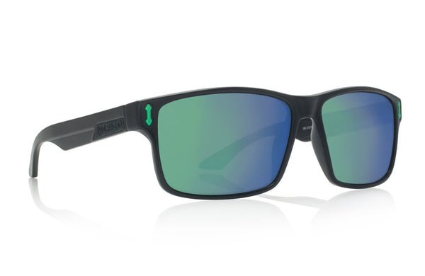Dragon - Count Matte Black H2O / Green Ion P2 Sunglasses
