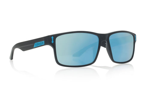Dragon - Count Matte Black H2O / Sky blue Ion P2 Sunglasses