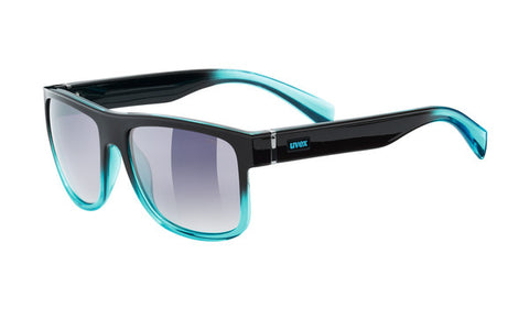 UVEX Sport - LGL 21 Matte Black Green Sunglasses / Green Mirror Lenses