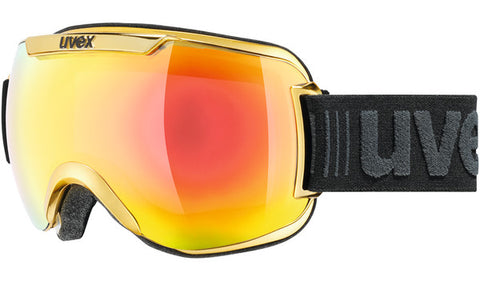 UVEX Sport - Downhill 2000 FM Chrome Yellow Chrome Snow Goggles / Yellow Mirror Lenses