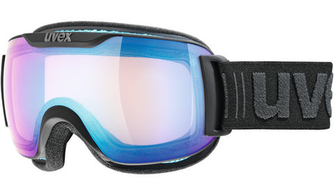 UVEX Sport - Downhill 2000 VFM Black Snow Goggles / Blue Mirror Lenses