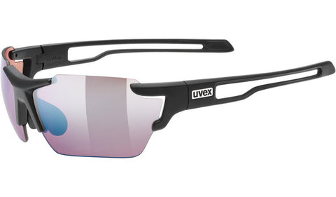 UVEX Sport - Sportstyle 803 Small CV Matte Black Sunglasses / Colorvision Outdoor Lenses