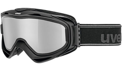 UVEX Sport - G. GL 300 TO Black Snow Goggles / Silver Mirror Lenses