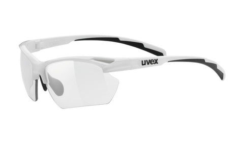 UVEX Sport - Sportstyle 802 Small V White Sunglasses / Vario Smoke Lenses