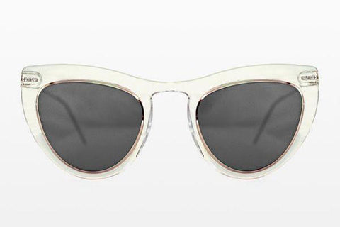 Spitfire - Outward Urge Clear / Gold Sunglasses / Black Lenses