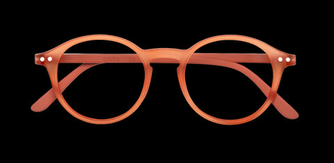 Izipizi - #D Warm Orange Reader Eyeglasses / +2.50 Lenses