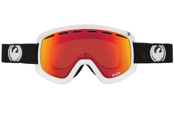 Dragon - D1 Inverse / Red Ion + Yellow Blue Ion Goggles
