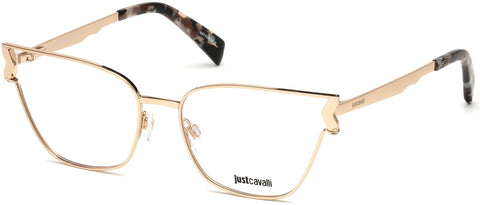 Just Cavalli - JC0815 Shiny Pink Eyeglasses / Demo Lenses