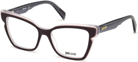 Just Cavalli - JC0817 Brown Eyeglasses / Demo Lenses