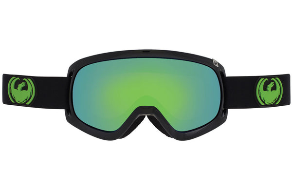 Dragon - D3 Jet / Green Ion + Yellow Blue Ion Goggles