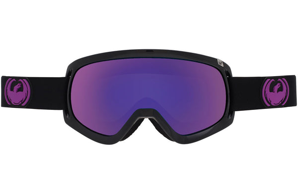 Dragon - D3 Jet / Purple Ion + Yellow Red Ion Goggles