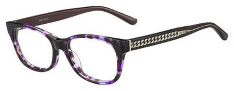 Jimmy Choo - Jc 193 Violet Havana Brown Eyeglasses / Demo Lenses