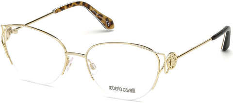 Roberto Cavalli - RC5052 Foiano Gold Eyeglasses / Demo Lenses