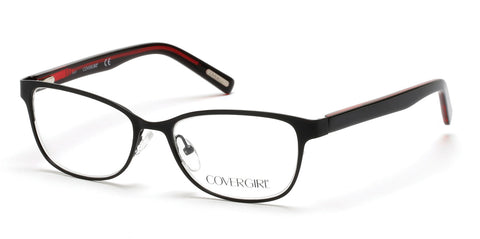 Cover Girl - CG0539 Matte Black Eyeglasses / Demo Lenses