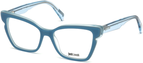 Just Cavalli - JC0817 Light Blue Eyeglasses / Demo Lenses