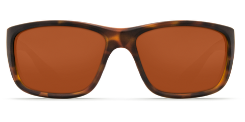 Costa - Tasman Sea  Matte Retro Tortoise Sunglasses / Copper Polarized Plastic Lenses
