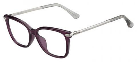Jimmy Choo - Jc 174 Violet Palladium Eyeglasses / Demo Lenses