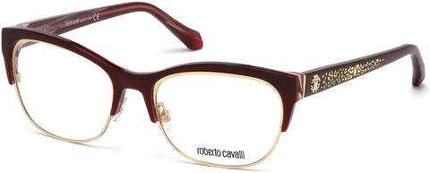 Roberto Cavalli - RC5023 Buggiano Bordeaux Eyeglasses / Demo Lenses