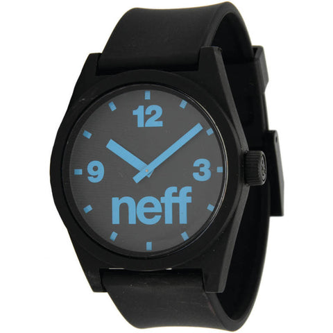 Neff - Daily Black/Cyan Watch