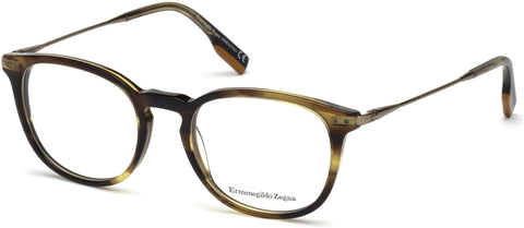 Ermenegildo Zegna - EZ5125 Dark Green Eyeglasses / Demo Lenses