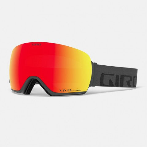 Giro - Article Grey Wordmark Snow Goggles / Vivid Onyx + Vivid Infrared Lenses
