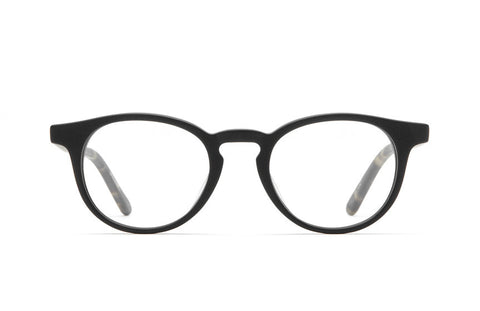 Raen - Leo Carillo 49 Matte Black + Brindle Rx Glasses