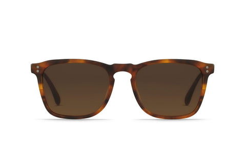 Raen Wiley Matte Rootbeer Sunglasses