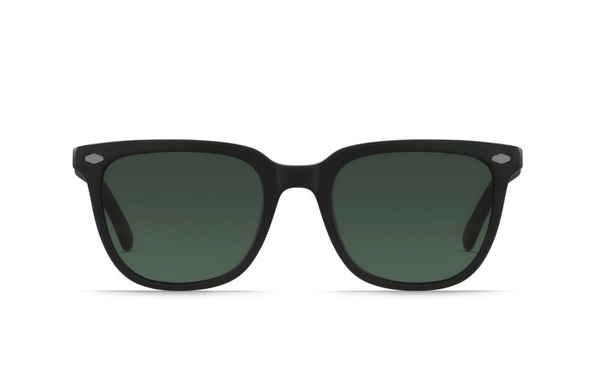 Raen - Arlo Matte Black + Matte Brindle Tortoise Sunglasses, Polarized Lenses