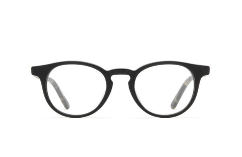 Raen - Leo Carillo 46 Matte Black + Brindle Rx Glasses