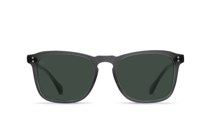 Raen - Wiley Matte Grey Crystal Sunglasses, Polarized Lenses