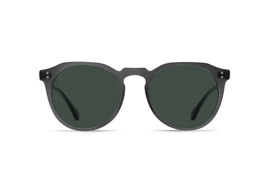 Raen - Remmy 49 Matte Grey Crystal Sunglasses, Polarized Lenses