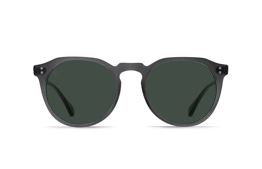 Raen - Remmy 52 Matte Grey Crystal Sunglasses, Polarized Lenses