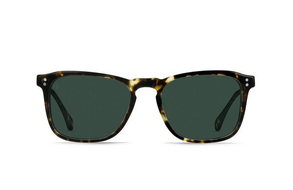 Raen - Wiley Brindle Tortoise Sunglasses, Polarized Lenses