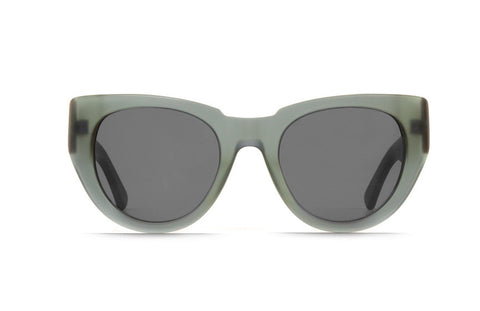 Raen - Volant Matte Sea Glass & Matte Rootbeer Sunglasses