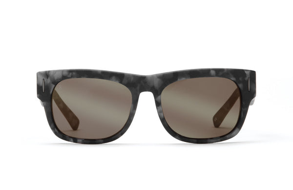 Raen Lenox Matte Ripple Sunglasses, Gold Mirror Lenses