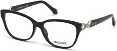 Roberto Cavalli - RC5017 Barga Shiny Black Eyeglasses / Demo Lenses